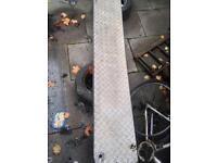 Recovery ramps heavy duty light weight aluminium 8.3ft long