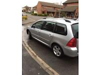 Peugeot 307 petrol only 69000 miles