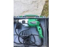Hitachi 2 speed drill with hammer action DV20VB2