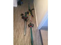 Pair of qualcast hedge trimmers never been used