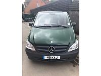Mercedes Vito 116 Cdi Compact - 2013 = 180 BHp - Fitted dog cages, top of range