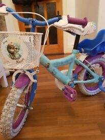 BIKE DISNEY FROZEN 12""