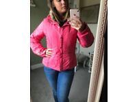 Ladies pink Poivre Blanc ski jacket L (12-14)