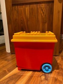 Giant Lego Box with Large Lego