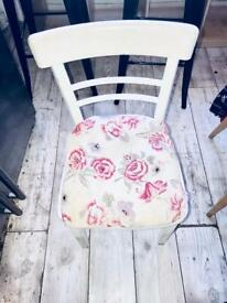 Vintage dining chair - shabby chic