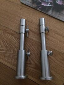 Stainless steel stage stands