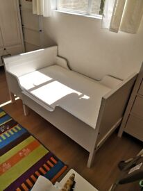 children bed (extendable) + mattress by IKEA - perfect conditions and great price