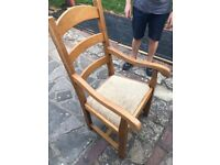 Solid wood carver chairs