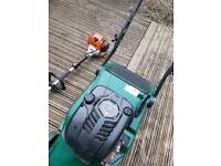 Lawnmower hayter 48 and hedge cutter km100