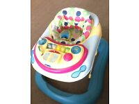 Baby walker for sale in good condition works well!!