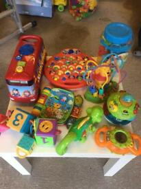 Massive bundle of VTech, Fisher Price etc baby and toddler toys