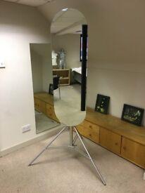 Custom Mirror on Manfrodo Tripod base