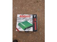 Jetsound amps x2 400 watts