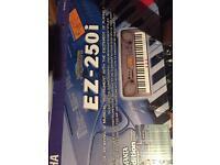 Yamaha EZ-250i Electric Keyboard (illuminated keys)