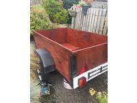 Wooden trailer 5x3