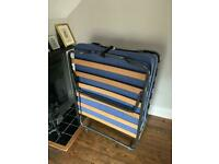 Camp bed | fold up bed | single bed