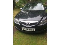 MAZDA 6 SPORT. BLACK. 5DR HATCHBACK selling for repair or spares