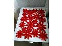 Red Placemat/Coasters