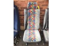 Mini bus van single seat