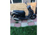 Honda ps125 61 plate