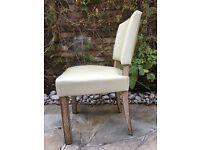 + + + Set of 6 French Art Deco chairs, newly upholstered + + +