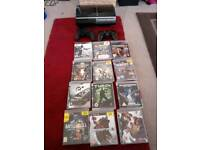 PS3 with 12 games