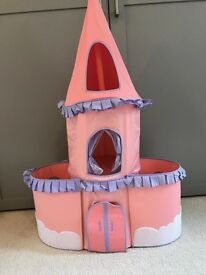 Princess Toy Castle - collapsible for storage