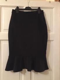 Lipsy Black Skirt