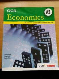 OCR A2 Economics 2nd edition textbook RRP £21