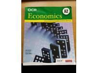 OCR A2 Economics 2nd edition textbook RRP £21