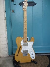 Greco guitar 1975 with upgraded pickups and recent refret