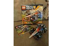 LEGO NEXO KNIGHTS CLAY'S RUMBLE BLADE