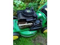 John Deere R47S mower