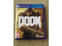 Doom PS4 Brand new and unopened