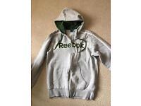 Reebok hoodie top size small