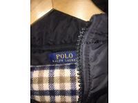 Ralph Lauren Polo Black Puffa Jacket