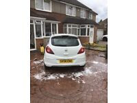 Vauxhall corsa 58 plate low mileage