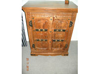 Indian Carved Cupboard