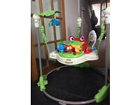 Fisher price rainforest Jumperoo in excellent condition