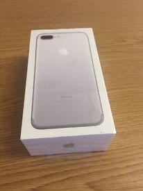 Apple iPhone 7 Plus (Latest Model) - 256GB - Silver (Unlocked) Sealed