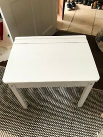 Child's desk IKEA White unused