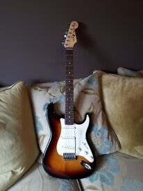 Stratocaster sun mustang electric guitar