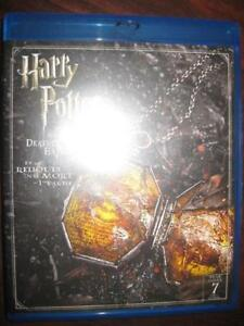Harry Potter and The Deathly Hallows Part 1. Blu Ray DVD + Digital HD. J.K Rowling Novel. Adventure. Action Movie Film