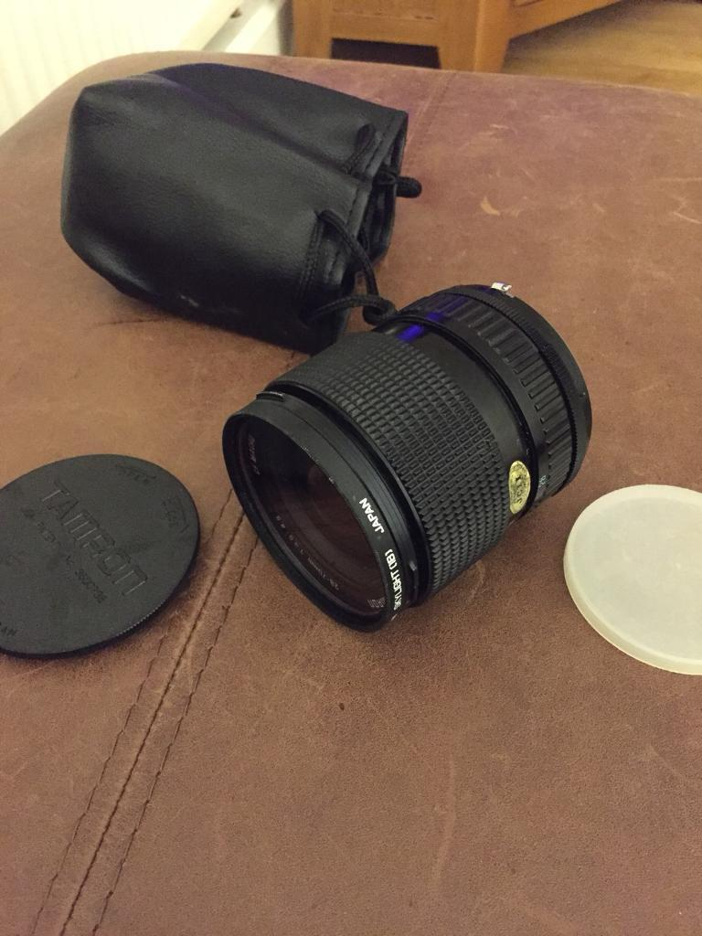 Tameron Camera Lens.