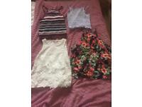 Women's petite clothes bundle