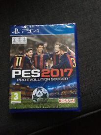PES 2017 new in wrapper