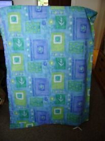 Curtains / a pair of curtains, unused and in great condition
