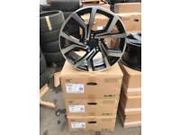 "4 18"" alloy wheels alloys rims tyre Tyres 112 Vw Volkswagen seat Skoda audi"