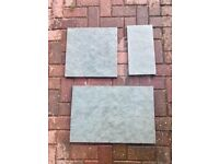 Natural Sandstone Paving - Grey/Green - Mixed Sizes - 10.56m2 - WILL SELL SEPARATELY