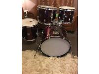 Gretsch Black Hawk drum Shells